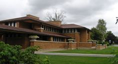 The Darwin D. Martin House Complex, also known as the Darwin Martin House State Historic Site, was designed by Frank Lloyd Wright and built between 1903 & 1905. Located at 125 Jewett Parkway in Buffalo, New York, it is considered to be one of the most important projects from Wright's Prairie School era, and ranks along with The Guggenheim in New York City and Fallingwater in Pennsylvania among his greatest works.
