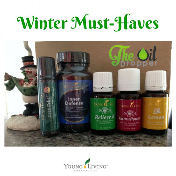 Learn about my #Winter Must-Haves with Young Living and how I got them for FREE! PART 1. www.theoildropper.com
