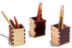 Dovetail & Box Joint Pencil Boxes