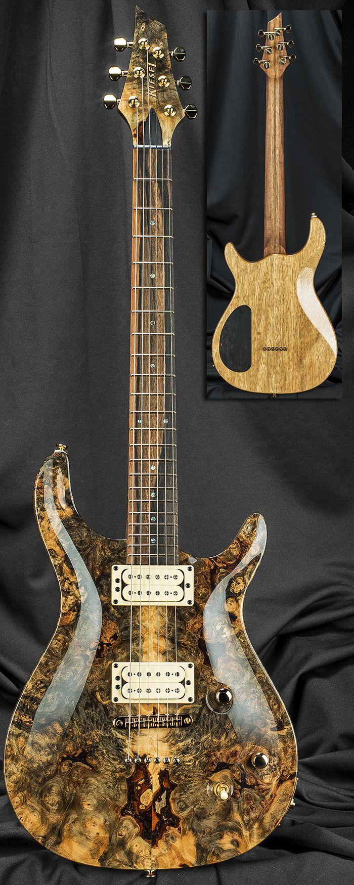 kiesel guitars ct6m california carved top guitar serial number 131725 music pinterest. Black Bedroom Furniture Sets. Home Design Ideas