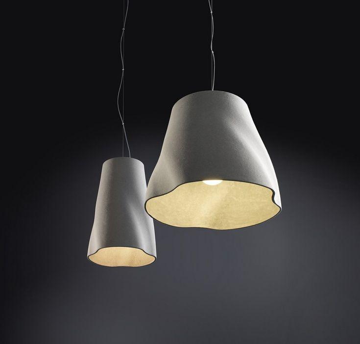 Superior LightingSOFT Rainer Mutsch MoltoLuce Pendants Lighting Series By Rainer  Mutsch Displaying A Slightly Rippled Geometry