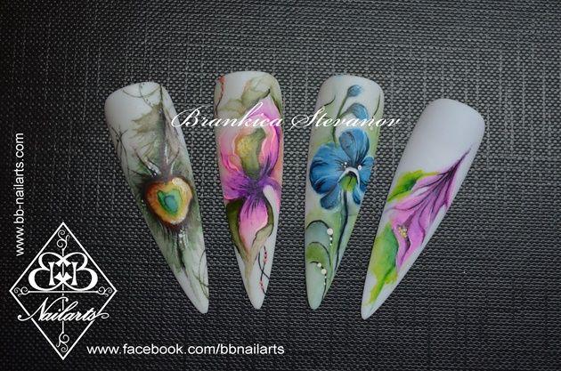 Aquarelle by darkling - Nail Art Gallery nailartgallery.nailsmag.com by Nails Magazine www.nailsmag.com #nailart