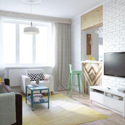 Aranżacja małego mieszkania – ślicznie i domowo