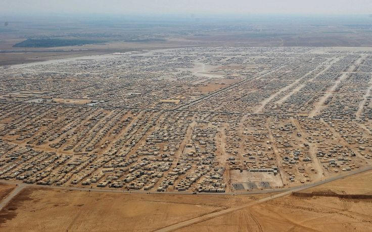 Photos Of A Syrian Refugee Camp In Jordan, the increasingly permanent home to 82,000+ Syrian Refugees. via buzzfeed.....