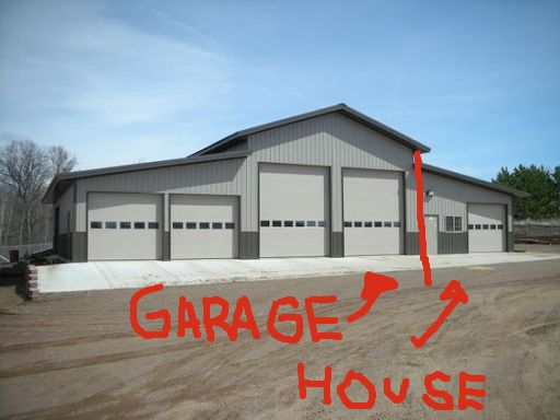 Well This Is My Plan Small House Big Garage Happiness