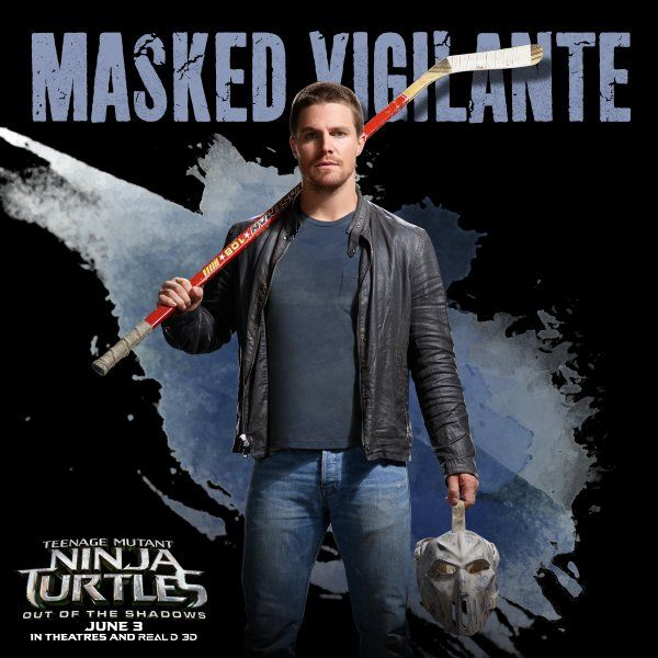 Stephen Amell. As Casey Jones. I NEED TO SEE THIS!!!!!!!!!!!!!!!!!!!!!!!!!!