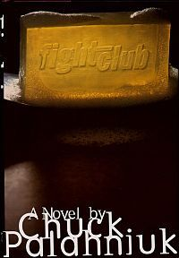 Fight Club - Chuck Palahniuk. If you've seen the movie, the book won't add much to your experience, though instead of 2 hours of disturbing, its 5 1/2 hours (audiobook). Though the movie ending is quite different from the book. I preferred the book ending. A break-down of differences can be found here (without commentary): http://www.thatwasnotinthebook.com/diff/fight_club_book_1996_vs_fight_club_movie_1999/0#diffPage