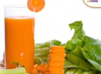 Licuado nutritivo de zanahoria