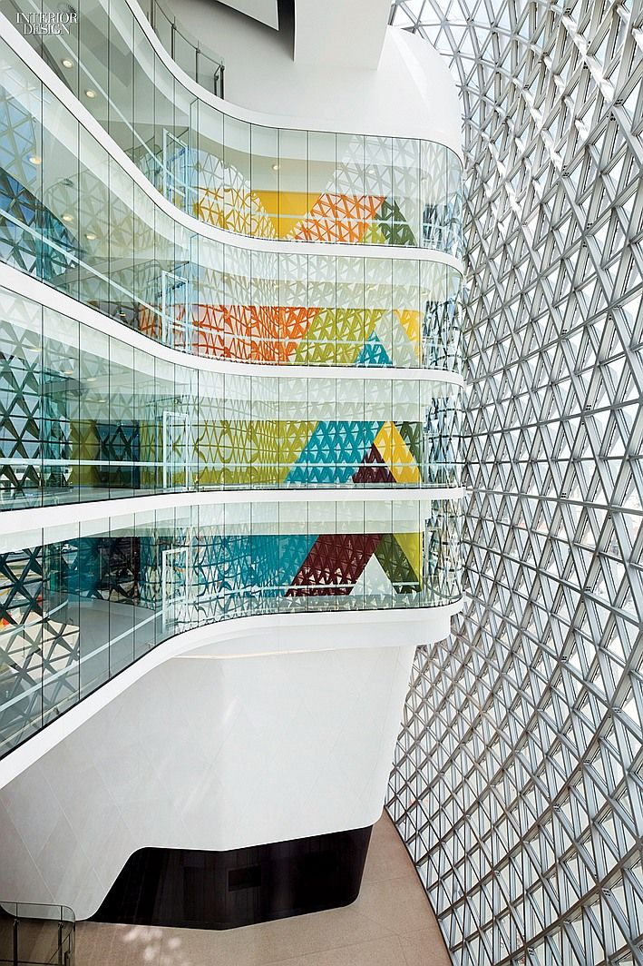 #healthcare South Australian HealthCare Design & Medical Research Institute.  Firm: Woods Bagot Healthcare
