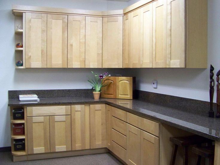 Maple Shaker Kitchen Unit Doors