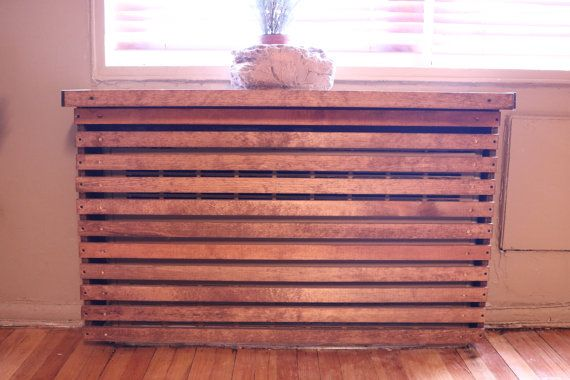 Wood Custom Handmade Radiator Cover by WoodWarmth on Etsy