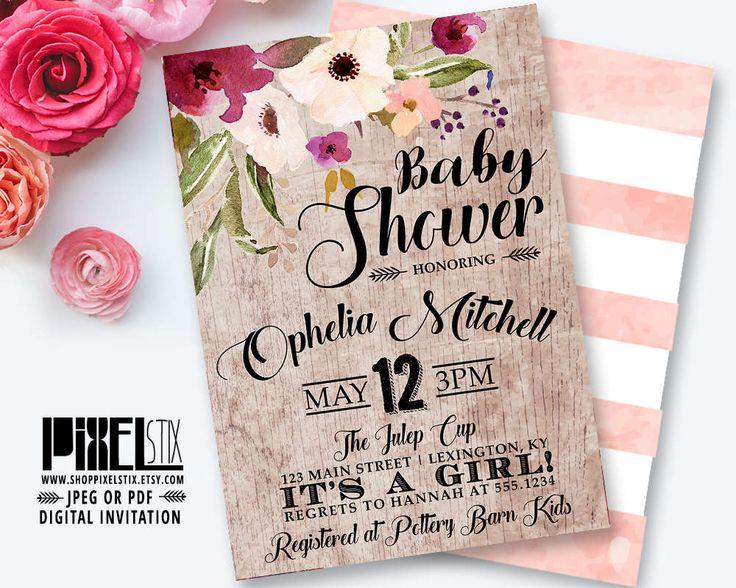 13 best pixelstix baby shower invitations images on pinterest, Baby shower invitations