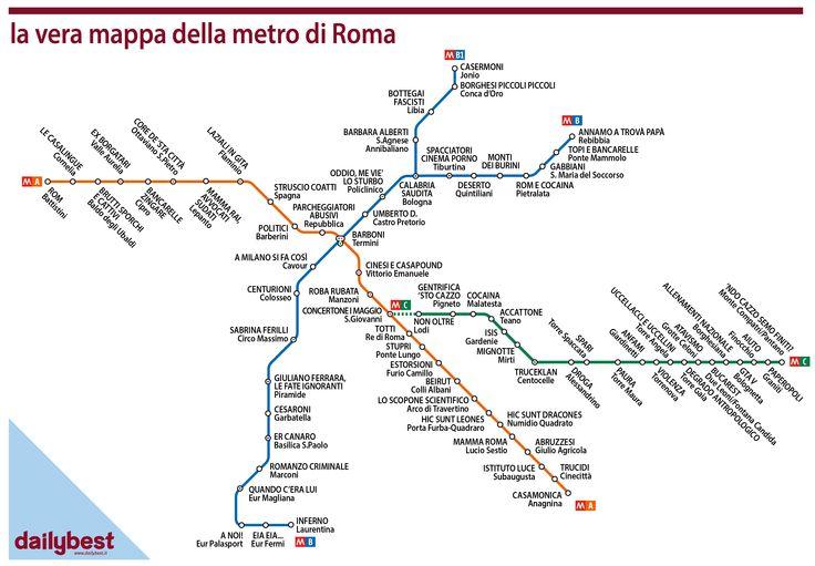 LA METRO DI ROMA-01 - DAILYBEST