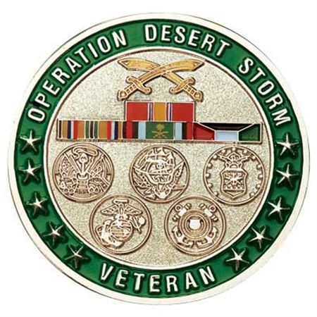 Operation Desert Shield Logo View more images