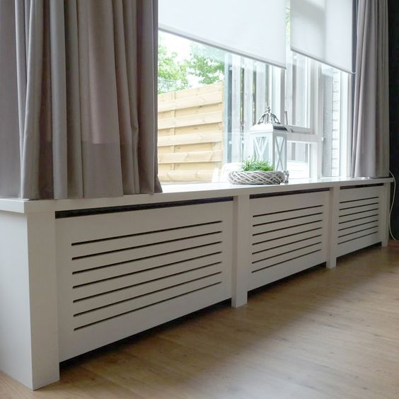 15 Stylish Ideas How To Cover Your Radiators