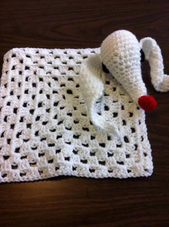 Nightmare before Christmas baby blanket by RobinSilvers on Etsy, $25.00