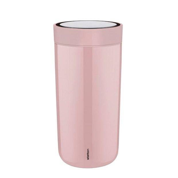 Stelton To Go Click Thermoskan 0,34 L - Roze - afbeelding 1