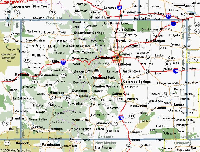 Map Of Colorado MAPS Pinterest - Colorado road maps
