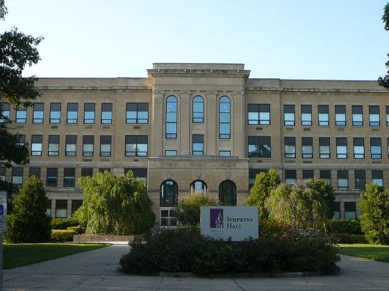 Simpkins Hall, Western Illinois University, Macomb, Illinois