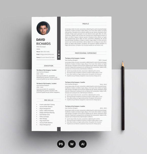 Curriculum Vita Resume Cv Design Lebenslauf Design Lebenslauf Design Vorlage Kreative Lebenslaufvorlagen