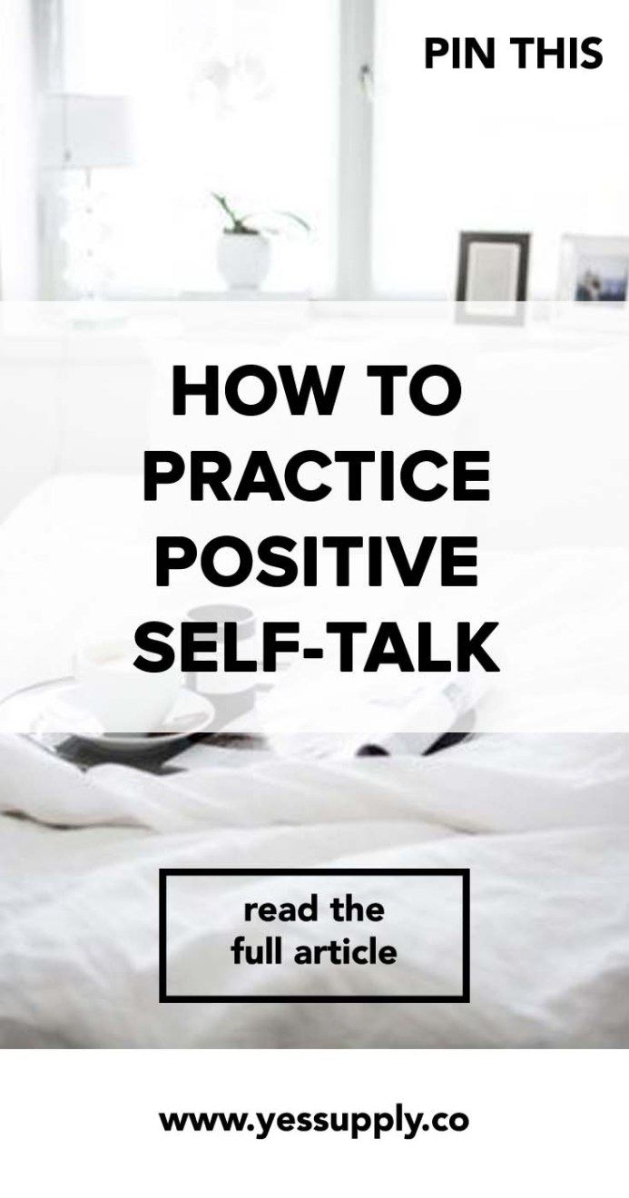 Article - Yes Supply's How To Practice Positive Self-Talk