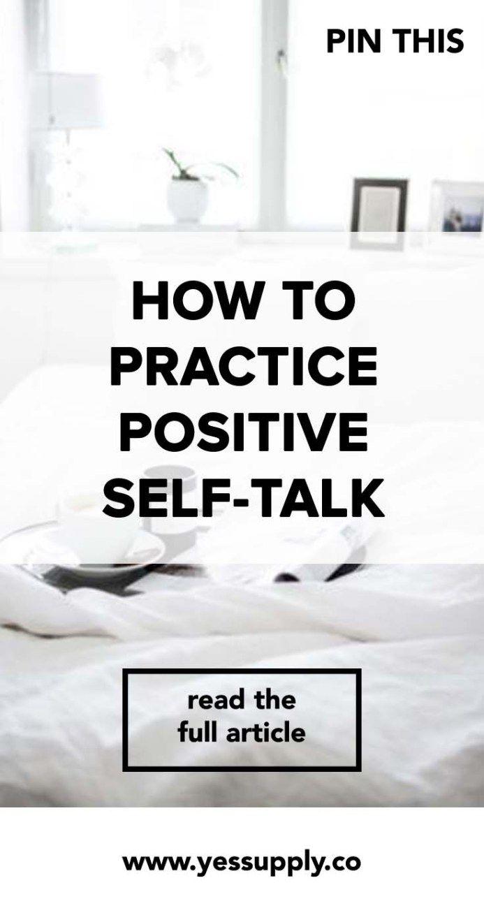 Positive self talk for teens