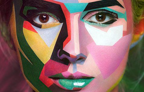 Όταν το extreme make-up συνάντησε τη φωτογραφία και το ρετούς