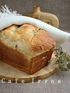 Хлеб на кефире с изюмом