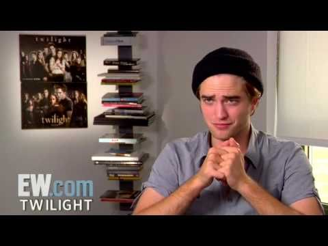 EW 2008 Twilight': Robert Pattinson Interview (Part 4 of 5) | Entertainment Weekly