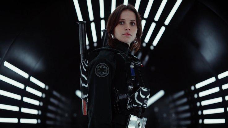 Felicity Jones in the Rogue One trailer [1920x1080]