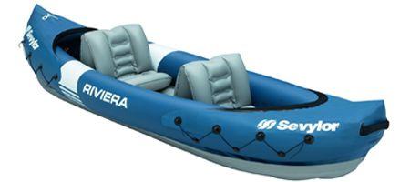 Kayak inflable Riviera de Sevylor. compralo en megapiscinas.com