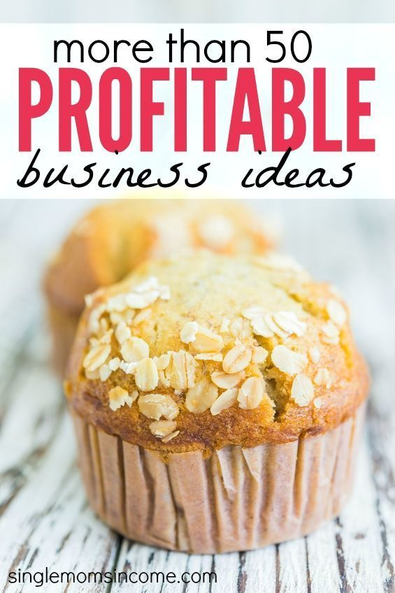 Coming up with a business idea can be tough. Here's a list of more than fifty profitable small business ideas. Something for everyone on this list! http://singlemomsincome.com/50-profitable-small-business-ideas/