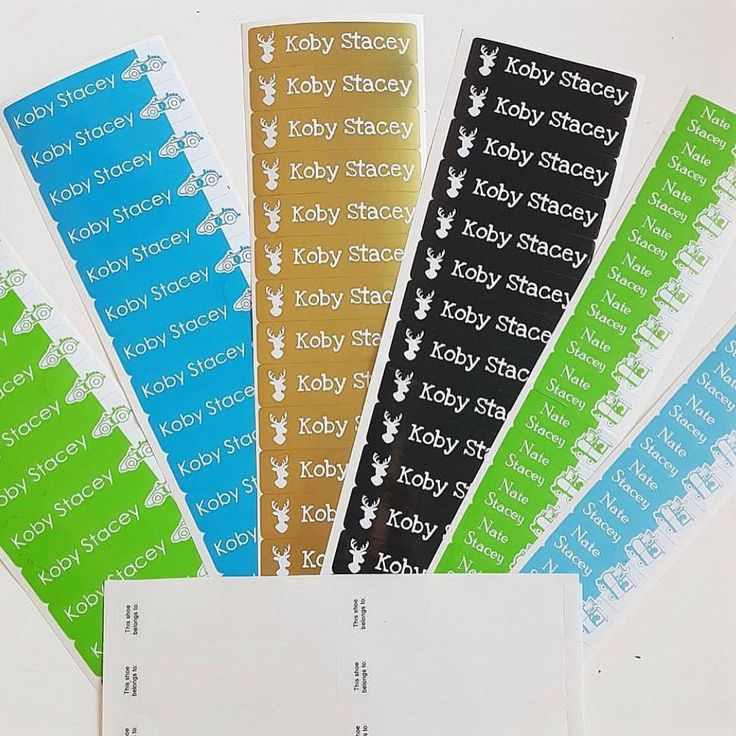 We love seeing how you personalise your stick on labels, these ones by @mums.view look amazing