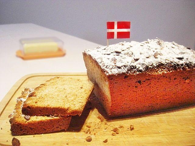 Köstlicher Dänischer Honigkuchen mit Butter!