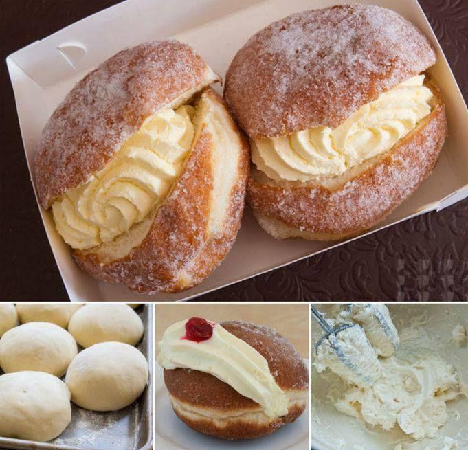 Baked Kitchener Bun Recipe