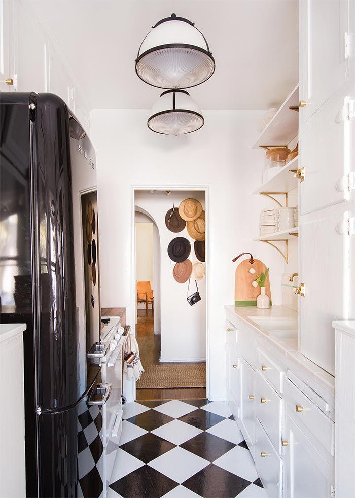 M s de 25 ideas incre bles sobre decoraci n ecl ctica en for Black n white kitchen ideas