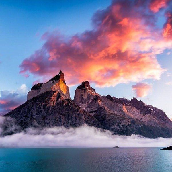 Magnificent beauty of Cuernos del Paine, Chile. Photo by @jake_anderson_photography