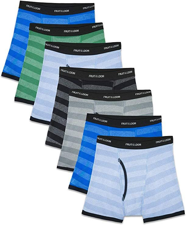 Boxer Briefs Assorted Colors Fruit of the Loom Boys Boxer Briefs