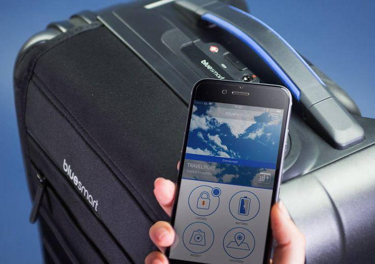 Bluesmart -- prima valiza smart din lume. | Smuff — Magazinul de traznai