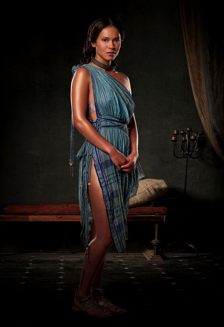 Lesley-Ann Brandt - Spartacus: Blood and Sand Promoshoot