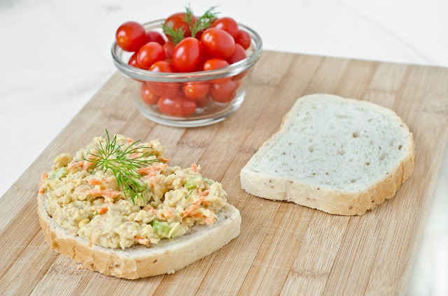 Chickpea Salad Sandwich - Better-than-Tuna Salad SandwichBetter Than Tuna Salad, Tuna Sandwiches, Chickpeas Salad, Vegetarian Sandwiches, Vegetarian Recipe, Vegetarian Lunches, Salad Sandwiches, Figs Trees, Chickpea Salad