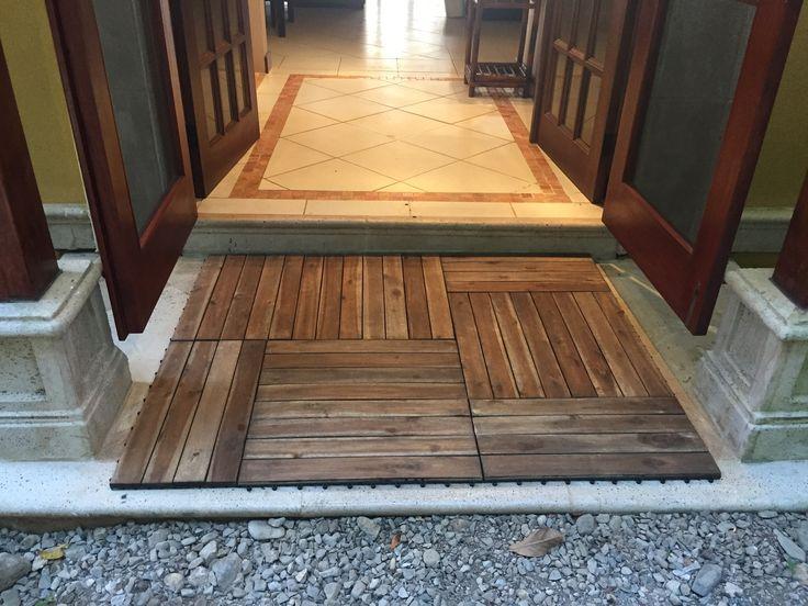 DIY quick and easy with Interlocking Deck Tiles  www.decktogo.com