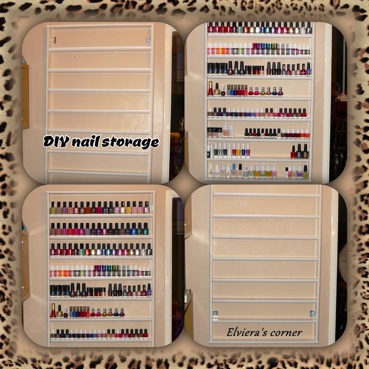 37 best nail organization images on pinterest. Black Bedroom Furniture Sets. Home Design Ideas