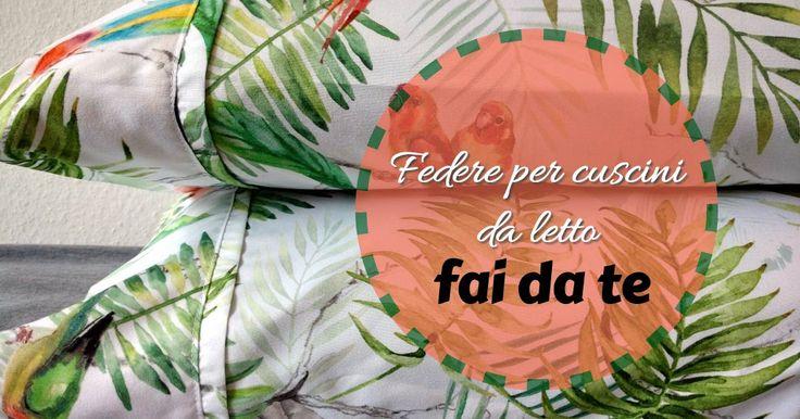 Cambia radicalmente il look del tuo letto con delle nuove federe! Questo tutorial ti sará d'aiuto! #etichettanome #etichette #sumisura #personalizzabile #federa #fattoamano #cucitocreativo #thewunderlabeleffect #ispirazione #lezione