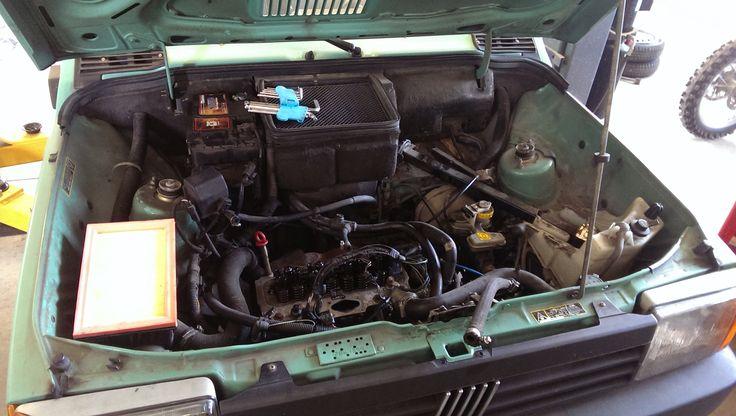 První kontrola motoru
