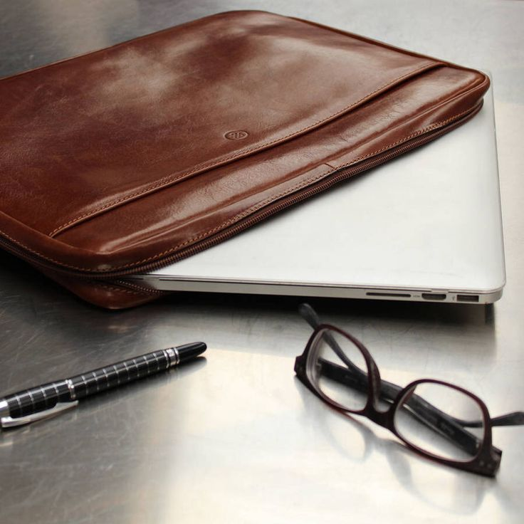 I've just found Luxury Italian Leather Laptop Case For Macbook. Calling all tech savvy types - use your laptop everyday? Invest in a leather laptop sleeve that won't let you down.. £148.00
