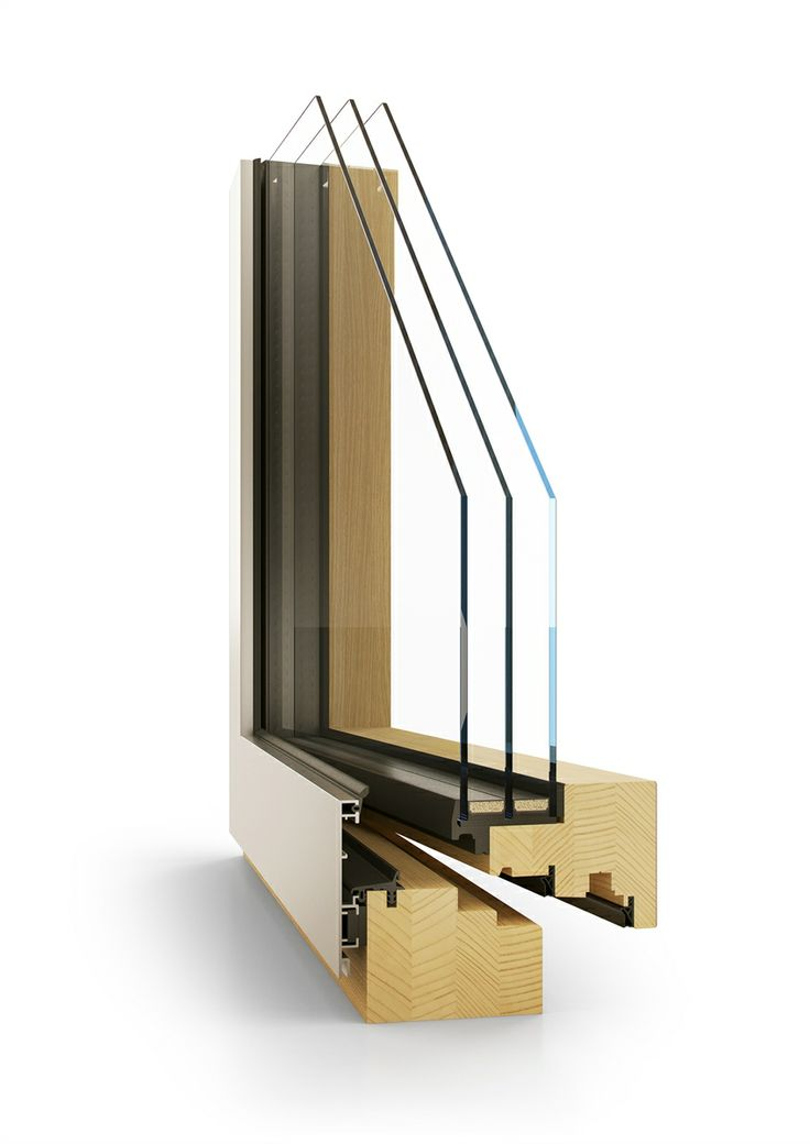 dřevohliníkové okno EVOLUT | wood aluminium window EVOLUT
