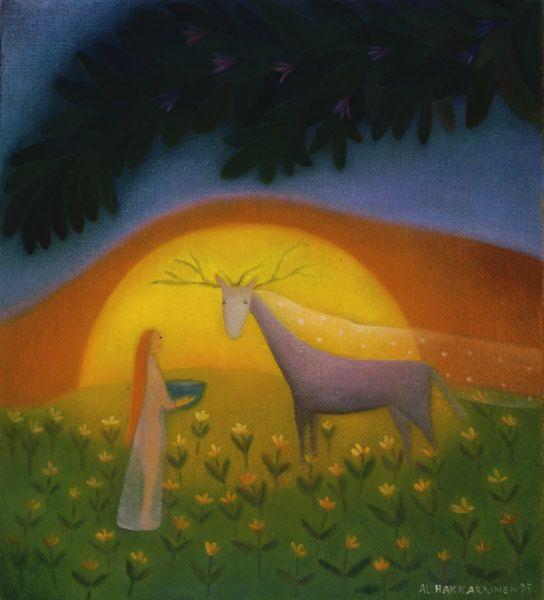 Anna-Liisa Hakkarainen - Taidemaalari ~ love this artist's work!