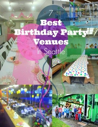 17 Best Ideas About Birthday Party Venues On Pinterest