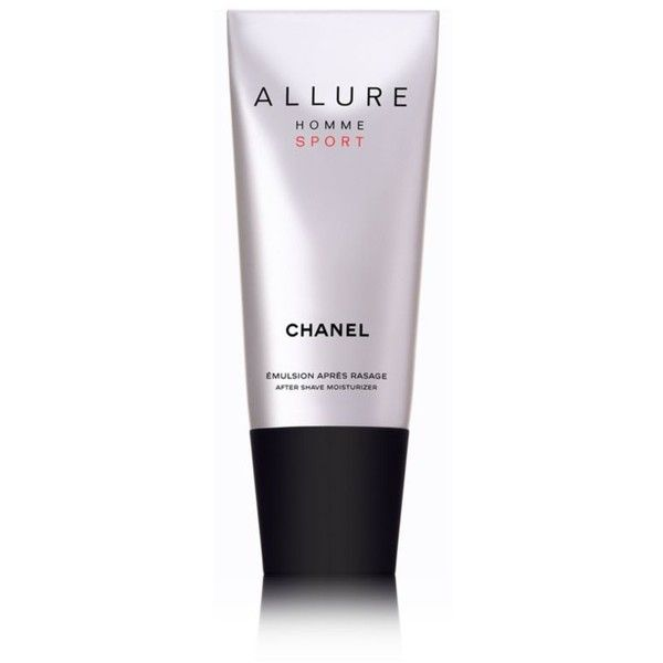 Chanel  Brallure Homme Sportbr After Shave Moisturizer 3.4 Oz (105 BAM) ❤ liked on Polyvore featuring men's fashion, men's grooming, men's shaving and chanel